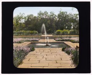 BPMM fountain pool, circa 1915