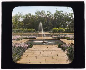 BPMM fountain pool, circa 1915