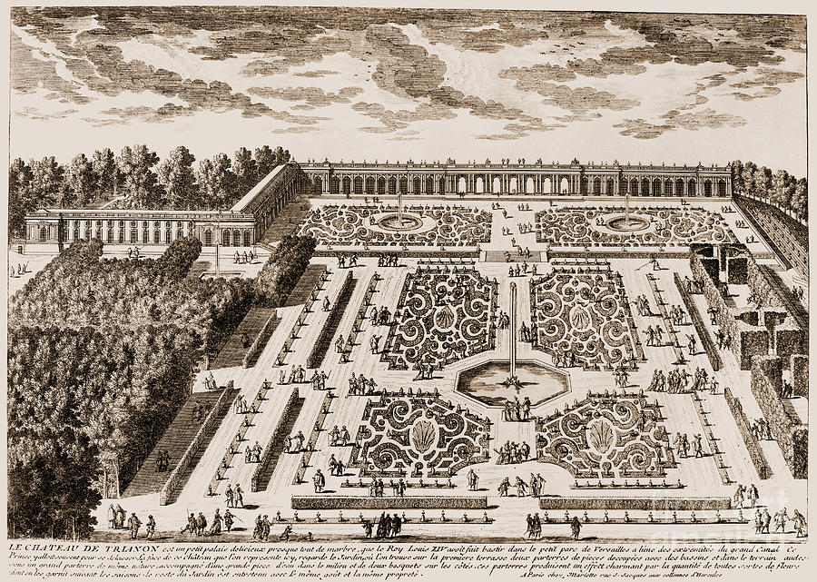 Garden design versailles interesting facts about the for Garden design versailles