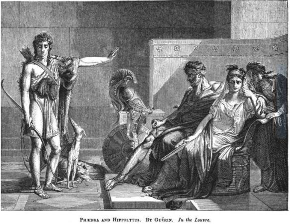 Phaedra and Hippolytus engraving