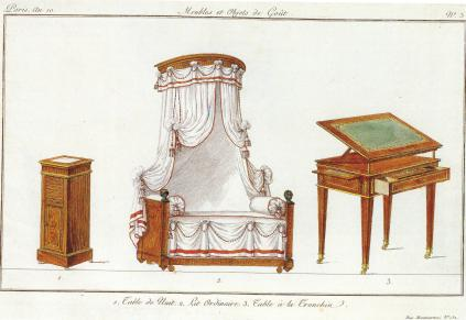 1985.06 Lannuier bed hangings