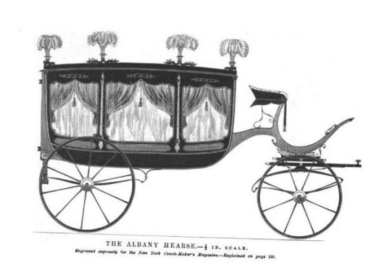 Albany Hearse illustration