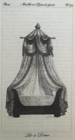 Meubles et Objets de Gout, plate 574, engraving published around 1823