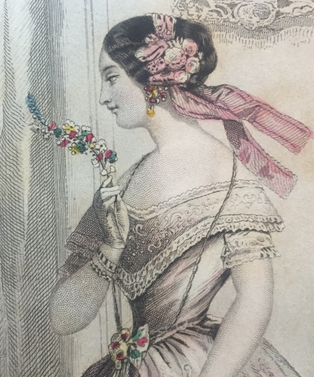 Godey's July 1853 detail