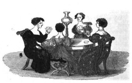 Eliza Leslie center table American Girl's Book p. 138 - Copy