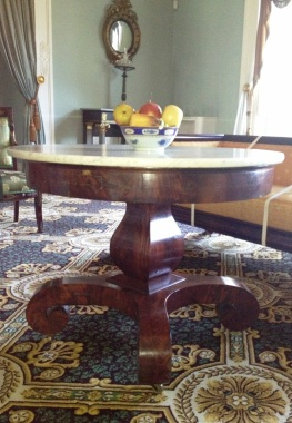 Grecian plain style center table