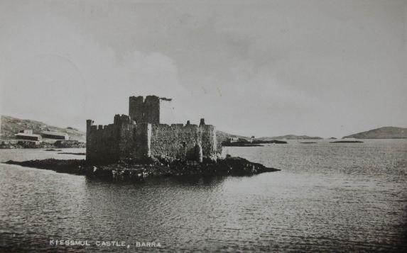 kisimul-castle-barra-postcard