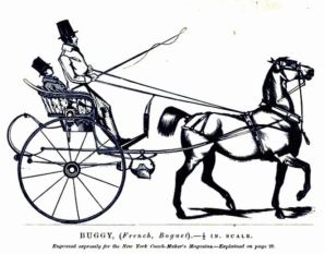 Buggy with coachman 1850s