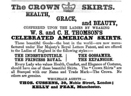 1860 Eng ad Cornhill vol. 5