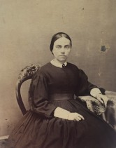 Woman in Mourning, 1860–65. American, Philadelphia. Carte de visite. Private Collection
