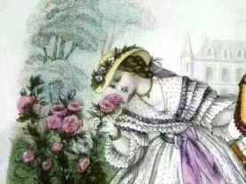La Mode Illustree 1862 Leloir detail