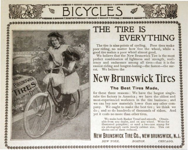 New Brunswick Tire Co. Advertisement