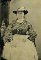 Domestic Servant, ca. 1863–65. Tintype. Private Collection
