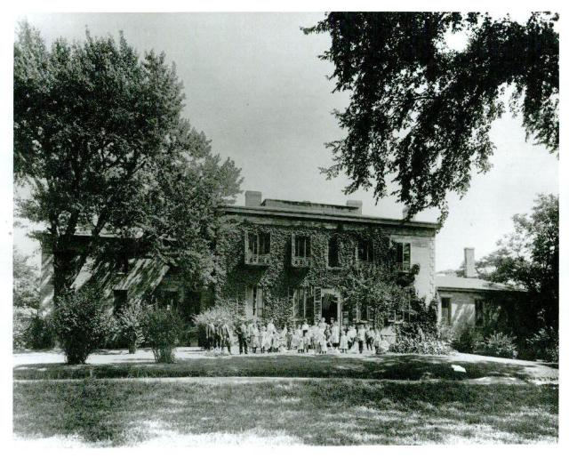 Bartow Home for Crippled Children, 1904, probably July 4