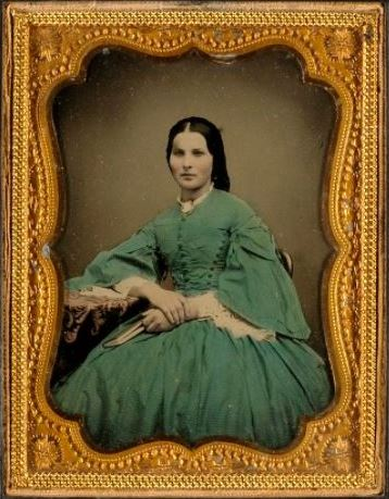 Lady in Green Dress