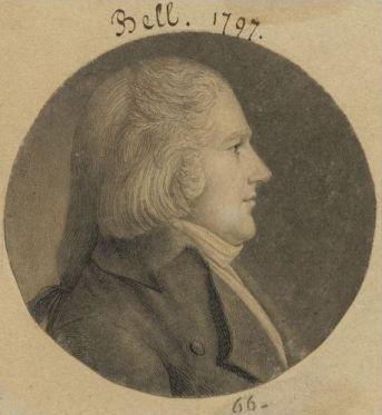 Isaac Bell 1797 engraving