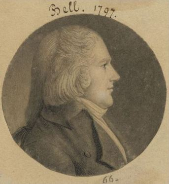 Isaac Bell 1797 engraving