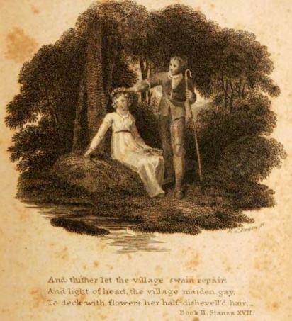 R. C. Bruen, engraver, The Minstrel