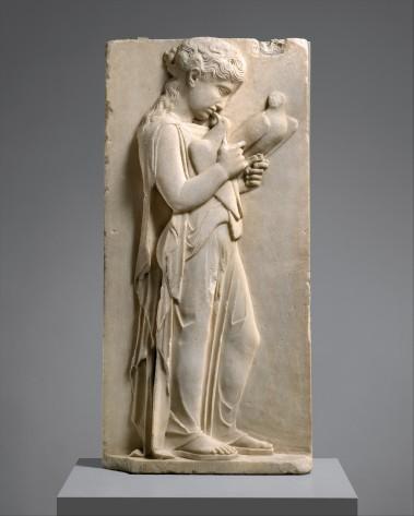 Greek grave stele