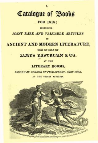 Eastburn catalogue 1818