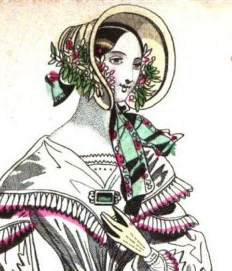 Straw Bonnet, 1841