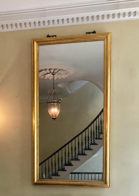 Hudson & Smith monumental mirror