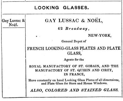 Plate-Glass Importers Advertisement