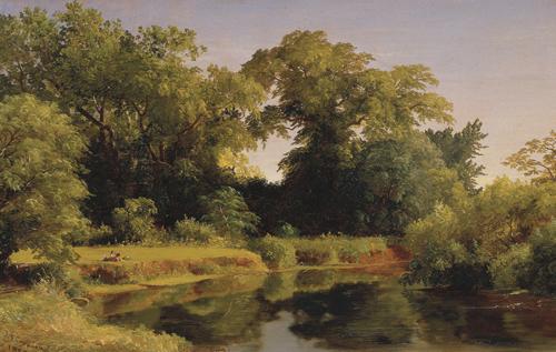 Cropsey Summer Landscape