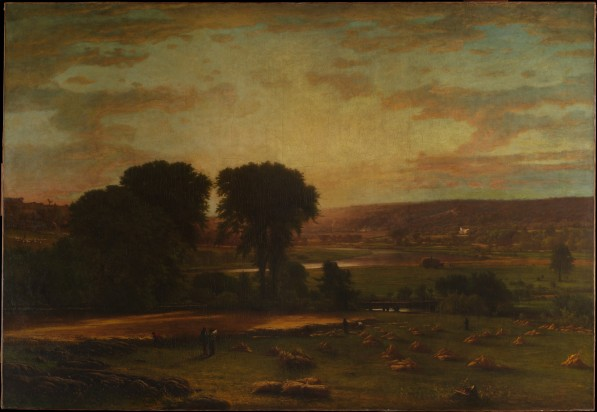 George Inness, Peace and Plenty