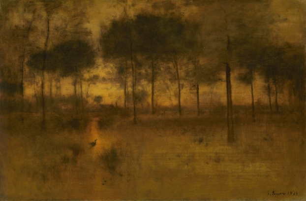 George Inness, Home of the Heron