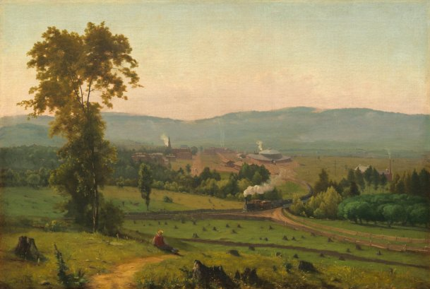 George Inness, The Lackawanna Valley