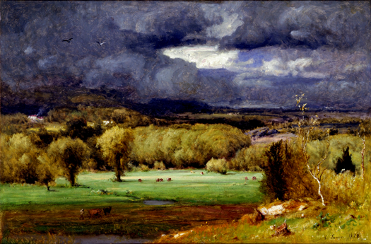 The Coming Storm Inness Albright-Knox