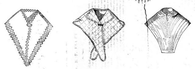 Chemisettes Godey's Feb 1847