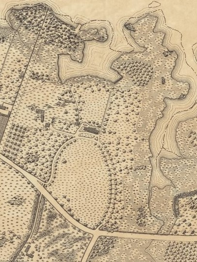 Detail of Bartow estate, 1885