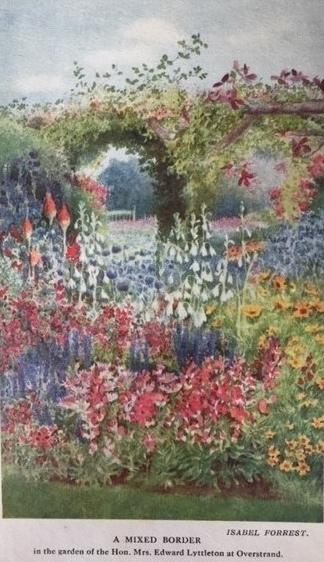 Frontispiece Herbaceous Garden