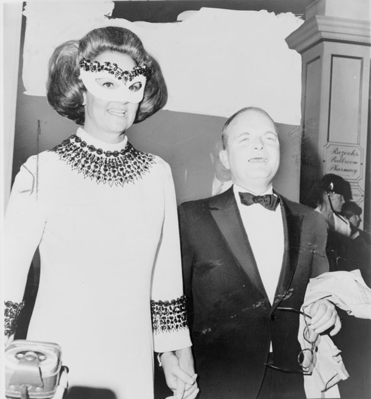 Katharine Graham and Truman Capote