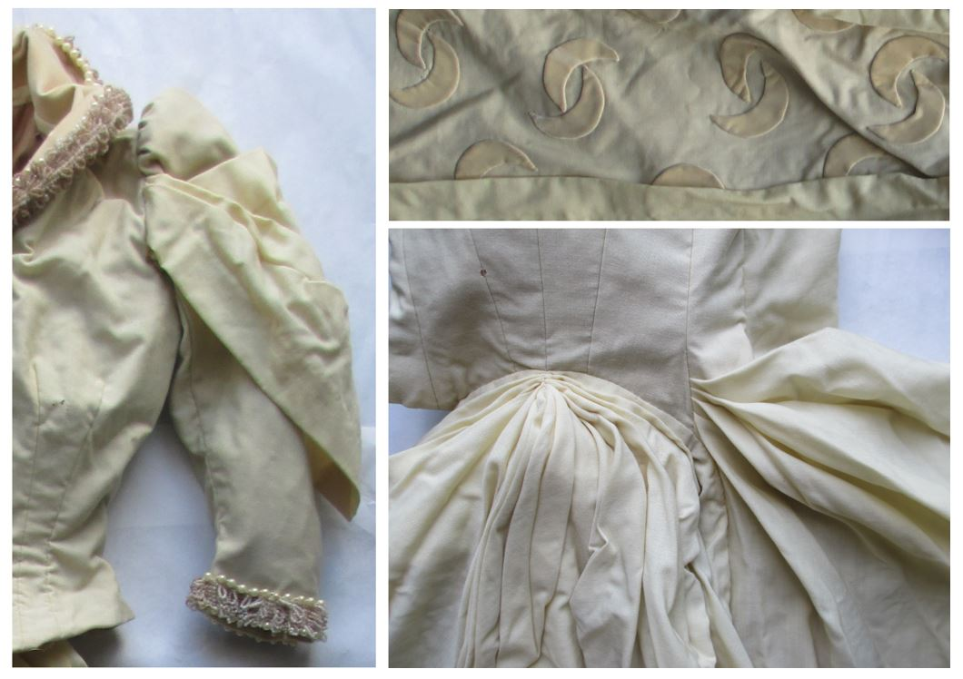 Moon dress, details