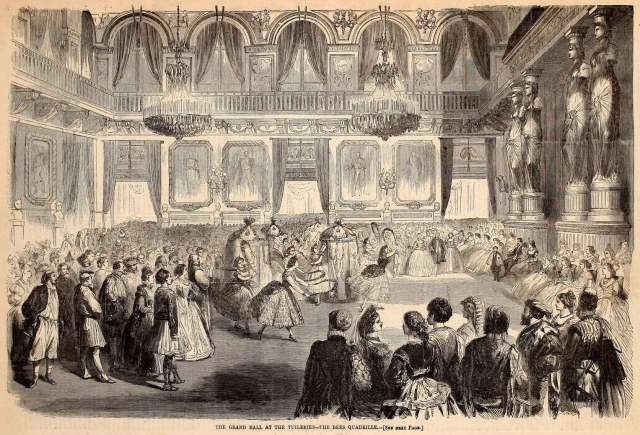 The Grand Ball at the Tuileries, Harper's Weekly, March 28, 1863