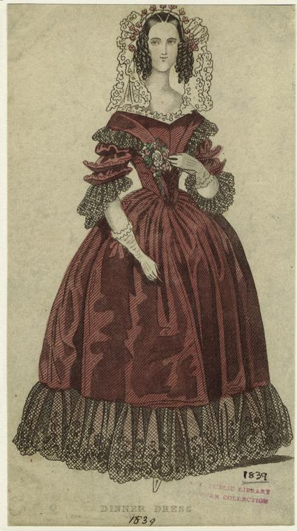 Dinner Dress, 1839