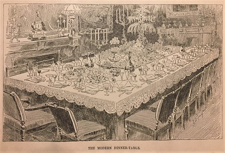 The Modern Dinner-Table, Sherwood Frontispiece