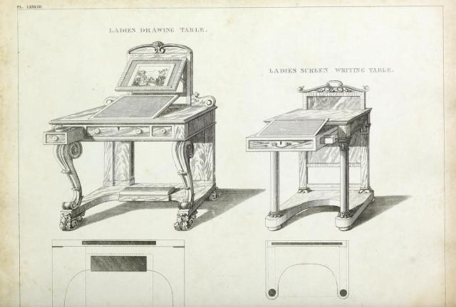 George Smith, The Cabinet-Maker and Upholsterer's Guide, 1826, plate 83