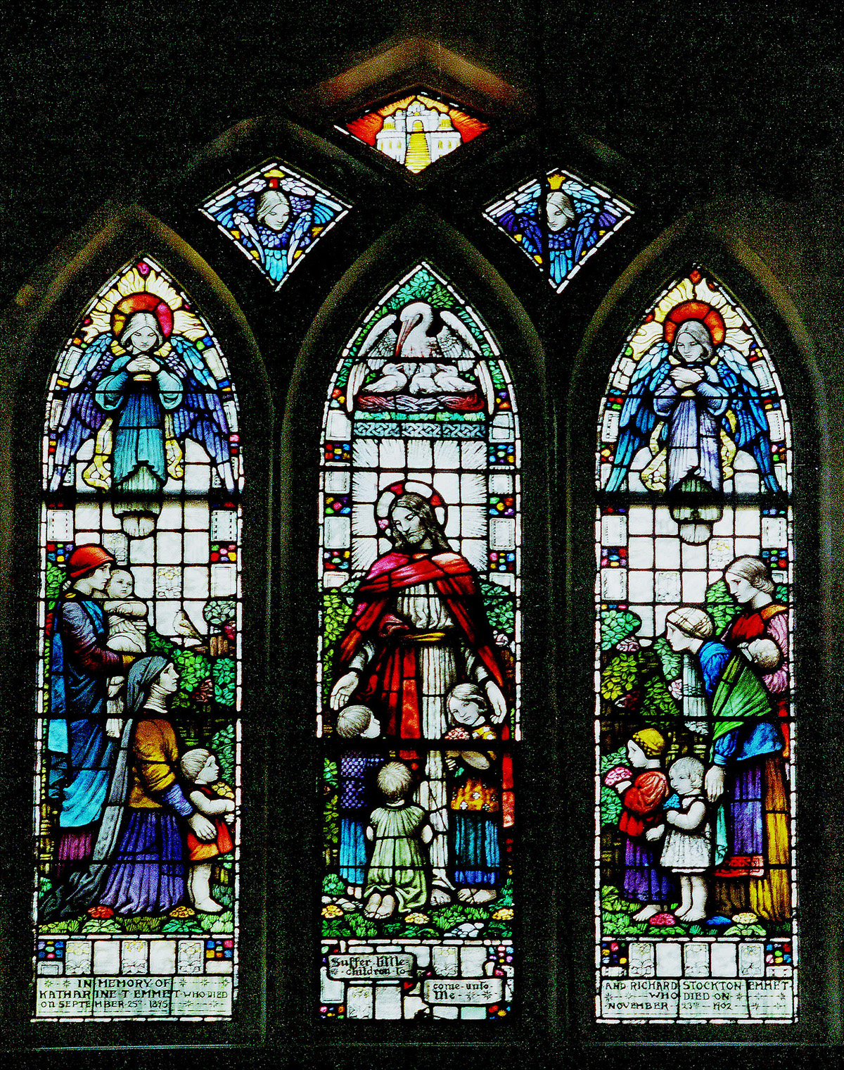 Emmet Window, Christ Church, Pelham