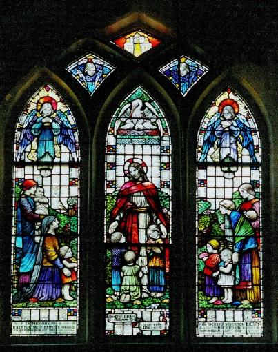 Emmet Window, Christ Church, Pelham