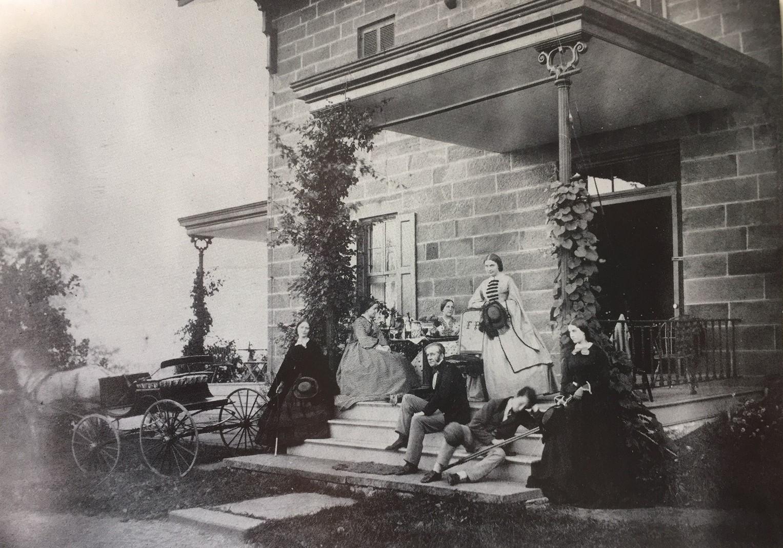Edgewood, Frederick Prime house, 1860s